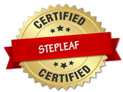Stepleaf certifications are given for those who completed online professional development courses